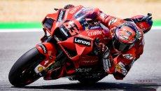 MotoGP: Bagnaia padrone del venerdì al Mugello: Rins 2°, Rossi 21° e penultimo