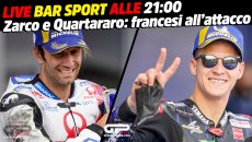 MotoGP: LIVE Bar Sport alle 21:00 - Zarco e Quartararo: francesi all'attacco
