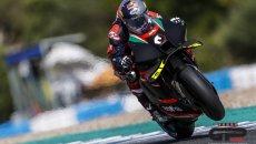 MotoGP: Dovizioso e Aprilia, c'è l'accordo: in pista a Misano il 23 e 24 giugno