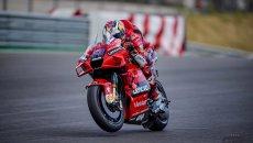 MotoGP: Doppietta Ducati in FP1 a Le Mans: Miller 1° davanti a Zarco, Rossi 14°