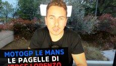 MotoGP: Lorenzo, le pagelle di Le Mans: Miller da 10, Rossi 5 ma è migliorato
