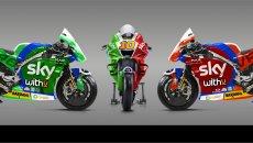MotoGP: FOTO - Una Ducati tricolore per Luca Marini al Mugello