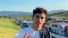 MotoGP: Marc Marquez su Facebook: sono arrivato al Mugello: i suoi risultati
