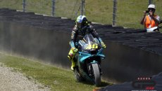 MotoGP: Valentino Rossi 'fuoripista' nel suo Mugello