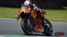 """MotoGP: Binder: """"questo 6° posto vale quasi una pole, il nuovo telaio funziona"""""""