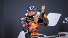 """MotoGP: Oliveira: """"correre è stato il miglior modo per onorare Jason Dupasquier"""""""