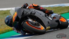 MotoGP: Honda hard at work for 2022: the new RC213V at the Jerez tests