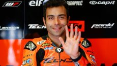 """MotoGP: Petrucci: """"Sono l'unico pilota della griglia felice per la pioggia"""""""
