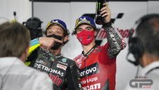 MotoGP: Bagnaia in heaven, Rossi in hell: a comparison between 2020 and 2021
