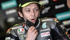 "MotoGP: Rossi: ""Yesterday my morale was low, today there were some timid smiles in the garage"""