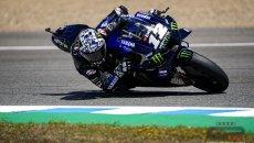 MotoGP: Jerez: Vinales ancora una volta re dei test, 2° Rins e 3° Mir