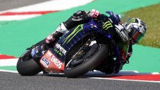 """MotoGP: Vinales: """"In FP2 I made a mistake at Arrabbiata 2 with a preheated tyre"""""""