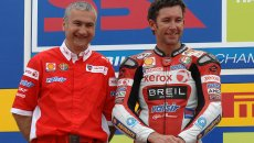 """News: Tardozzi: """"Bayliss has the physique of a 30-year-old, he will recover soon"""""""