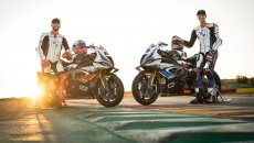 SBK: BMW removes the veil! Here are the 2021 liveries of van der Mark and Sykes