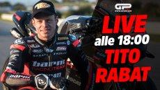 SBK: LIVE alle 18:00 - Tito Rabat: pronto al debutto in SBK con Ducati