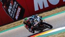 SBK: Ducati all'attacco ad Aragon: 1° Chaz Davies, 3° Scott Redding