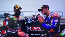 SBK: THE INCIDENT After the error Gerloff in prayer by Rea: apology accepted