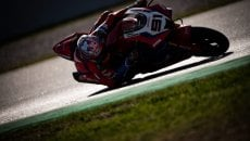 "SBK: Haslam e la Honda si impongono nei test di Aragon, 5° Jack Miller a 3""5"