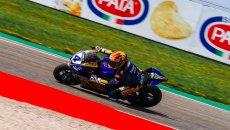 SBK: Odendaal si ripete in SSP600: vince Gara 2 ad Aragon, spettacolo De Rosa 2°