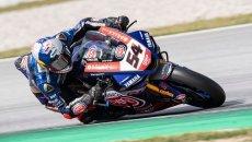 SBK: Aragon: Razgatlioglu e la Yamaha da paura nella FP1, 6° Rea, 11° Redding