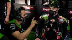 """SBK: Rea: """"Sto faticando a frenare con la Kawasaki, dobbiamo rimediare"""""""