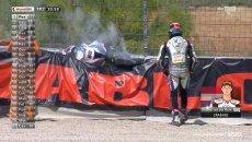 SBK: Aragon: Van der Mark a terra, ecco dove ha lanciato la BMW