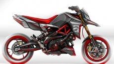 Moto - News: Aprilia Dorsoduro: la prossima generazione della motard sarà più hyper?