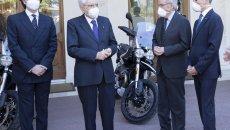 Moto - News: Moto Guzzi V85TT: da oggi la moto delle guardie di Mattarella