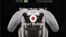 Moto - News: L'air bag inserito nelle tute Alpinestars settabile in 'pista' e 'strada'