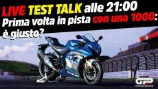 Moto - News: LIVE- Test Talk alle 21:00 -Esordio in pista con una superbike 1000: è la scelta giusta?