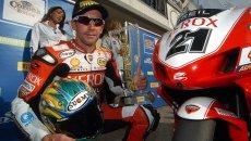 """SBK: 20 anni di Troy Bayliss: il Museo Ducati celebra """"il carrozziere"""""""