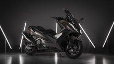 Moto - Scooter: Kymco AK 550 ETS MY2021: lo scooter top di gamma... è ancora più top