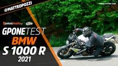 Moto - Test: Prova video BMW S 1000 R 2021, nuovo look e si fa quasi mansueta