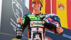 Moto2: Garzo non correrà al Sachsenring, al suo posto Alonso Lopez