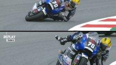 """Moto2: VIDEO - Baltus e il salvataggio alla Marquez: """"Mi sono ispirato a Marc"""""""