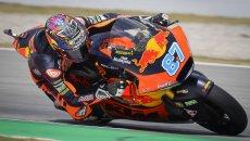 Moto2: KTM senza rivali: Gardner vince a Barcellona, 2° Raul Fernandez!