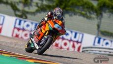 Moto2: Nelle FP3 doppietta Ajo con Gardner e Fernandez, 3° Di Giannantonio