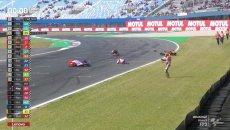 Moto3: Assen: Ancora una follia in Moto3, carambola di cadute a FP3 finite