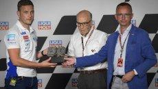 Moto3: Ritirato dalla Moto3 il numero 50 di Jason Dupasquier