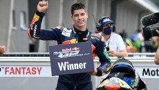 Moto3: L'Italia che vince: Matteo Bertelle si impone in Rookies Cup al Sachsenring