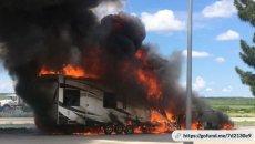 MotoAmerica: L'Harley Davidson del campionato Mission King Of The Baggers distrutta dal fuoco