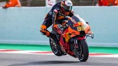 """MotoGP: Binder: """"A Barcellona sento i lati negativi del nuovo telaio KTM"""""""