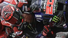 MotoGP: Ducati e Suzuki in Direzione Gara per la tuta aperta di Quartararo