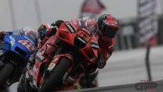 "MotoGP: Bagnaia: ""Ho buttato via la gara nei primi giri, non sono contento"""