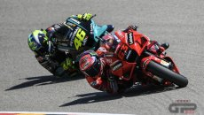 """MotoGP: Bagnaia: """"Not happy with a last place, but satisfied with my work"""""""