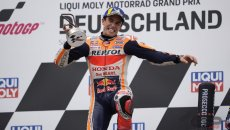 """MotoGP: Marquez: """"Ho seguito l'istinto e vinto ma non sono ancora il vecchio Marc"""""""