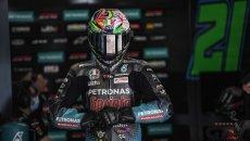 """MotoGP: Morbidelli: """"Non voglio sia un anno buttato via, mi spingo al limite"""""""