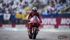 """MotoGP: Miller: """"Il fumo? Solo un po' d'olio nello scarico ma mi hanno fermato"""""""