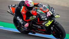 "MotoGP: Aleix Espargarò: ""Sono arrabbiato per la qualifica, Aprilia limitata dalle ali"""