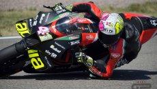 """MotoGP: A. Espargarò: """"Non vado forte per convincere Dovizioso a venire in Aprilia"""""""